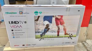 """Hisense 58""""Fully 4K Smart Uhd Television With Wall Bracket 