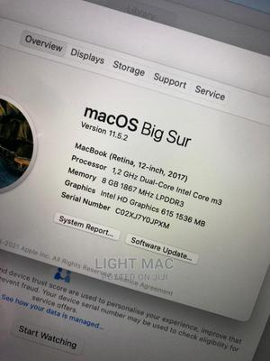 Laptop Apple MacBook Pro 2017 8GB Intel Core M SSD 256GB | Laptops & Computers for sale in Abuja (FCT) State, Central Business District