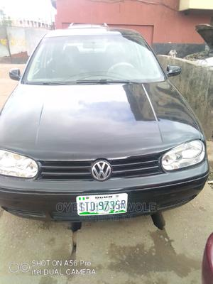Volkswagen Golf 2004 Black   Cars for sale in Lagos State, Mushin