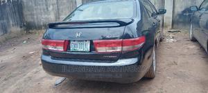 Honda Accord 2003 2.4 Automatic Black | Cars for sale in Enugu State, Enugu