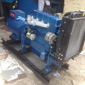 4-Cylinder Diesel Engine With 31.25kva   Generator Set   Electrical Equipment for sale in Lagos State, Ojo