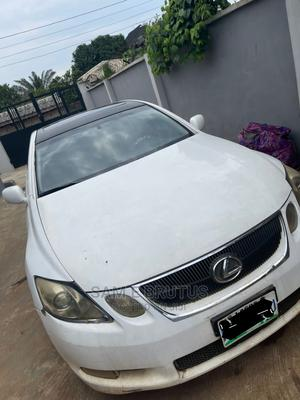 Lexus GS 2008 300 White   Cars for sale in Lagos State, Ikorodu