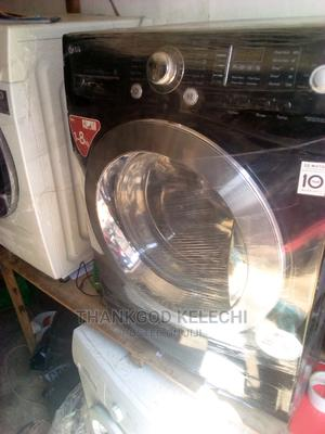 LG Washing Machine 8kg.   Accessories & Supplies for Electronics for sale in Lagos State, Ojo