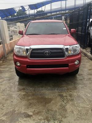 Toyota Tacoma 2010 Double Cab V6 Automatic Red | Cars for sale in Lagos State, Ikeja