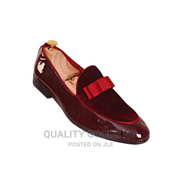 Italian Leather Luxury Wedding Casual Leisure Shoes Red