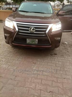 Lexus GX 2017 460 Luxury Red | Cars for sale in Lagos State, Isolo