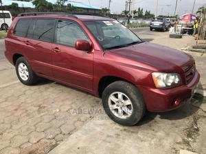 Toyota Highlander 2003 Base AWD Red   Cars for sale in Lagos State, Ikeja
