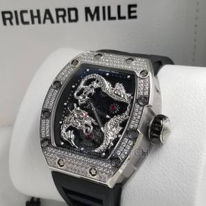 Richard Mille Rubber Wrist Watch Good Quality Affordable | Watches for sale in Lagos State, Lagos Island (Eko)