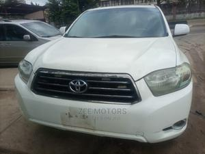 Toyota Highlander 2009 Sport 4x4 White   Cars for sale in Lagos State, Ikeja