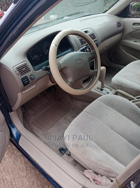 Toyota Corolla 2001 Sedan Blue   Cars for sale in Ikeja, Lagos State, Nigeria