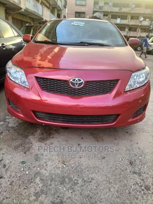 Toyota Corolla 2009 1.8 Exclusive Automatic Red | Cars for sale in Lagos State, Ogba