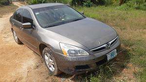 Honda Accord 2007 2.0 Comfort Automatic Gray | Cars for sale in Lagos State, Ikorodu