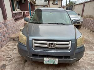Honda Pilot 2006 EX 4x4 (3.5L 6cyl 5A) Blue   Cars for sale in Lagos State, Ifako-Ijaiye