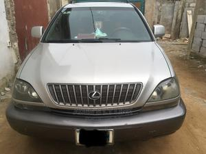 Lexus RX 2000 300 4WD Silver   Cars for sale in Lagos State, Abule Egba