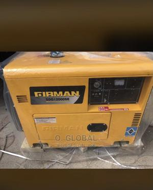 Firman SDG 12000 Mobile Diesel Soundproof Generator   Electrical Equipment for sale in Lagos State, Ojo