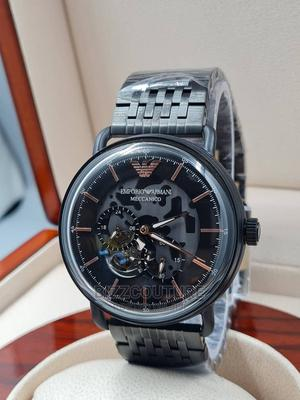High Quality EMPORIO ARMANI Black Stainless Steel Watch   Watches for sale in Abuja (FCT) State, Asokoro