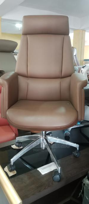 Brown Executive Office Swivel Chair | Furniture for sale in Lagos State, Lekki
