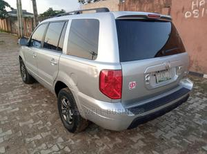 Honda Pilot 2005 EX-L 4x4 (3.5L 6cyl 5A) Silver | Cars for sale in Lagos State, Ipaja