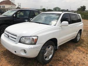 Toyota Highlander 2007 White | Cars for sale in Abuja (FCT) State, Jahi