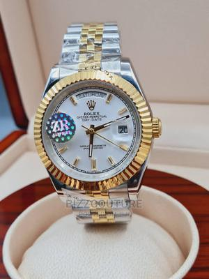 High Quality ROLEX Date-Just Stainless Steel Watch Fore Men   Watches for sale in Abuja (FCT) State, Asokoro