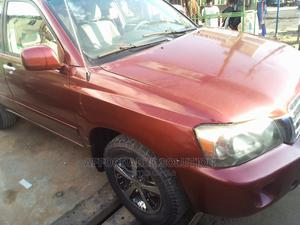 Toyota Highlander 2005 Red | Cars for sale in Lagos State, Abule Egba