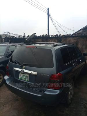 Toyota Highlander 2004 Base AWD Blue | Cars for sale in Rivers State, Obio-Akpor