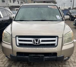 Honda Pilot 2006 EX 4x4 (3.5L 6cyl 5A) Gold | Cars for sale in Lagos State, Abule Egba