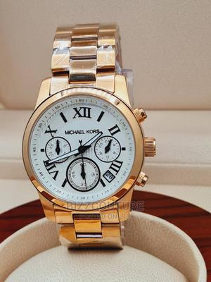 High Quality MICHAEL KORS Gold Stainless Steel Watch for Men   Watches for sale in Abuja (FCT) State, Asokoro