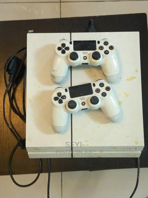 White PS4 With 2 Pads and 2 Games | Video Game Consoles for sale in Lagos State, Lekki