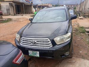 Toyota Highlander 2008 4x4 Black | Cars for sale in Lagos State, Egbe Idimu