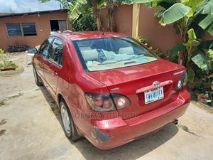 Toyota Corolla 2006 LE Red | Cars for sale in Lagos State, Kosofe