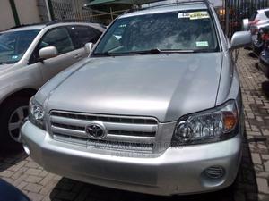 Toyota Highlander 2005 4x4 Silver | Cars for sale in Lagos State, Ojodu