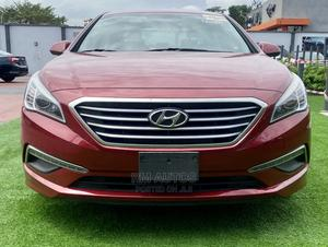 Hyundai Sonata 2015 Red | Cars for sale in Lagos State, Magodo