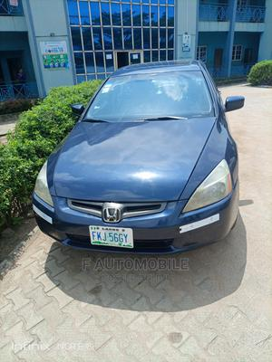 Honda Accord 2005 Sedan LX V6 Automatic Blue | Cars for sale in Lagos State, Ifako-Ijaiye
