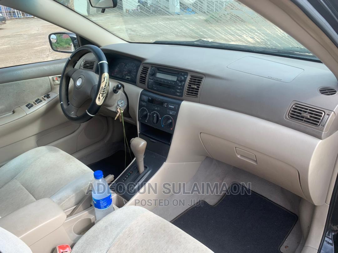 Toyota Corolla 2003 Sedan Automatic Black   Cars for sale in Ibadan, Oyo State, Nigeria