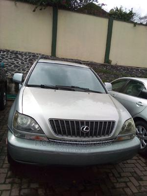 Lexus RX 2000 300 4WD Silver | Cars for sale in Lagos State, Ojodu