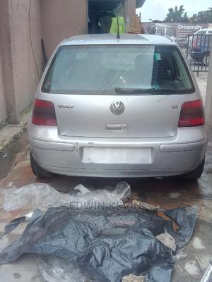 Volkswagen Golf 2001 1.6 FSi Silver   Cars for sale in Lagos State, Maryland