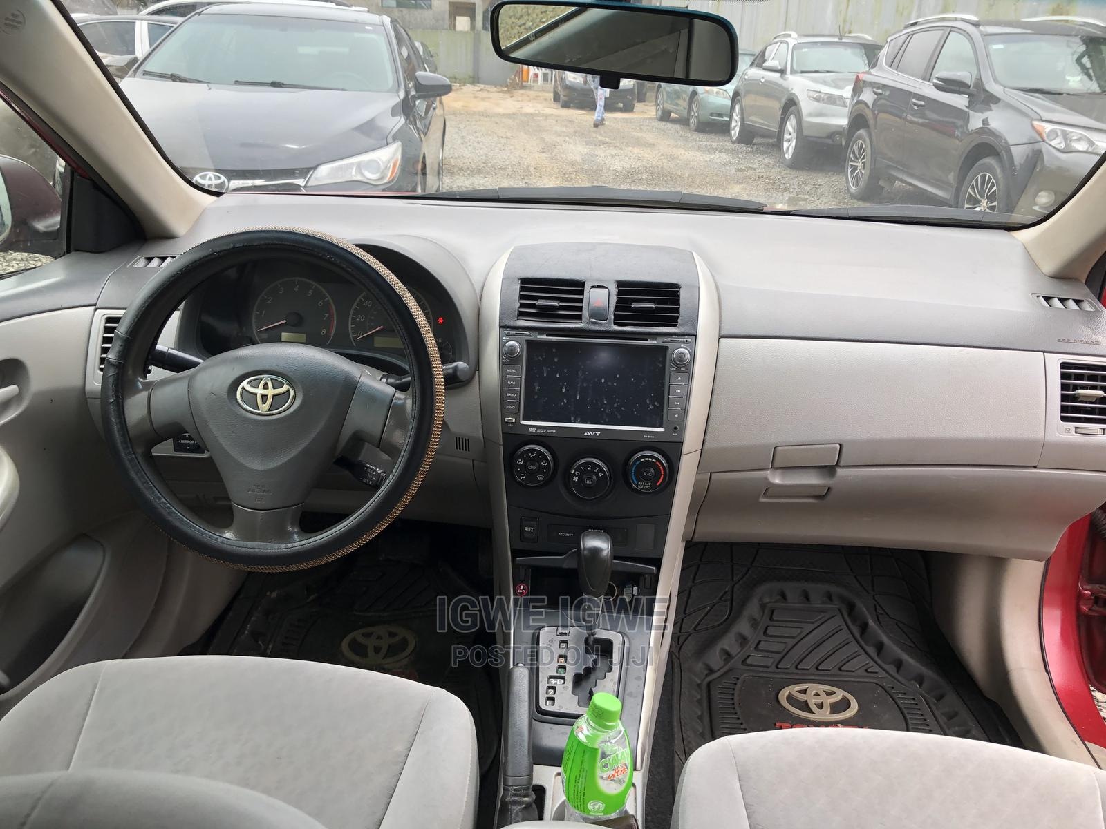 Toyota Corolla 2009 Red   Cars for sale in Port-Harcourt, Rivers State, Nigeria
