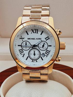High Quality MICHAEL KORS Gold Chain Watch for Men   Watches for sale in Abuja (FCT) State, Asokoro
