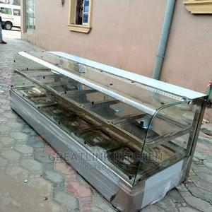Food Warmer Curve Glass 6plates | Restaurant & Catering Equipment for sale in Lagos State, Ojo