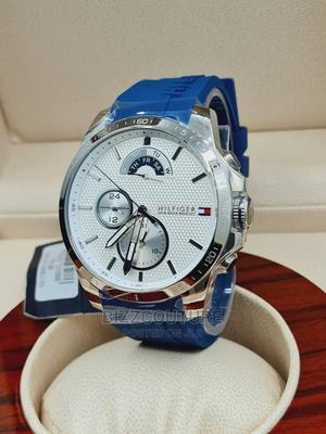 High Quality TOMMY HILFIGER Rubber Band Watch for Men   Watches for sale in Abuja (FCT) State, Asokoro
