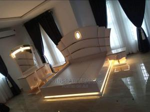 New Modern Royal Bed With Drawers Mirror Console   Furniture for sale in Lagos State, Ojo