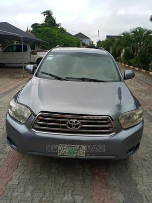 Toyota Highlander 2009 4x4 Silver | Cars for sale in Lagos State, Ajah