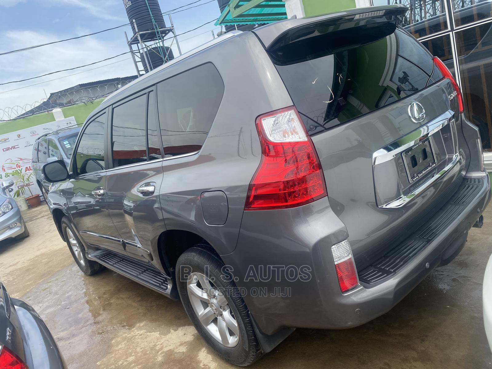 Lexus GX 2012 460 Gray   Cars for sale in Ogba, Lagos State, Nigeria