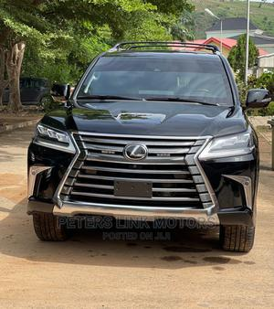 New Lexus LX 2021 570 AWD Black   Cars for sale in Abuja (FCT) State, Maitama