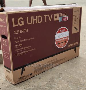 """LG 43""""UHD AI Thinq Smart TV 4K (Webos) Magic Remote 