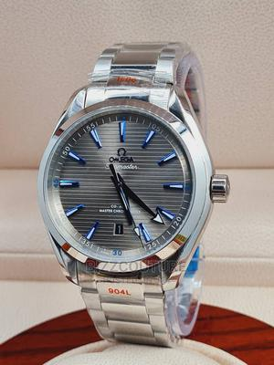High Quality OMEGA Silver Stainless Steel Blue Dial for Men   Watches for sale in Abuja (FCT) State, Asokoro