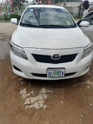 Toyota Corolla 2010 White   Cars for sale in Abuja (FCT) State, Kubwa