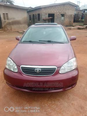 Toyota Corolla 2005 LE Red | Cars for sale in Lagos State, Ipaja
