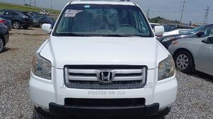Honda Pilot 2006 EX 4x2 (3.5L 6cyl 5A) White   Cars for sale in Abuja (FCT) State, Lugbe District